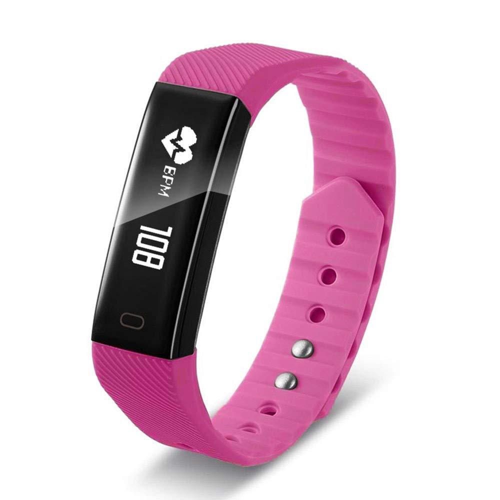 Smartwatch F3 - Pulsera Inteligente con podómetro multifunción e ...
