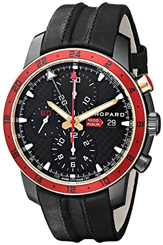 Chopard Men's 168550-6001 LBK Miglia Zagato Analog Display Swiss Automatic Black Watch