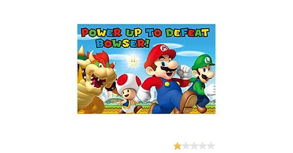 Amscan - 271554 Super Mario juegos de fiesta: Amazon.es ...