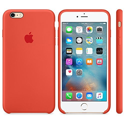 Apple OEM Silicone Case - for iPhone 6 Plus / 6s Plus - Orange