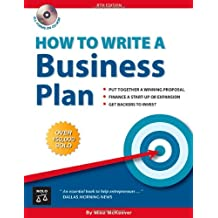 How to Write a Business Plan with CDROM