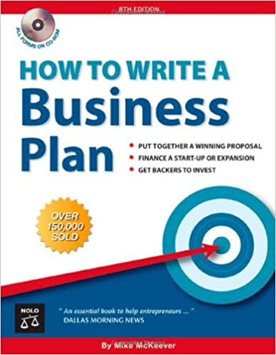 Amazon How To Write A Business Plan 9781413305623 Mike