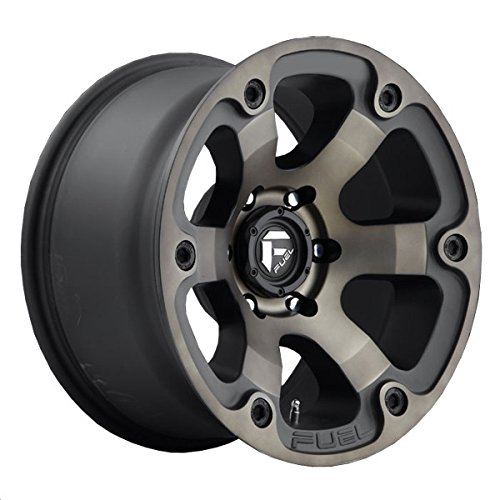 Fuel Beast black Wheel with Painted Finish (17 x 9. inches /6 x 5 inches, 1 mm Offset)
