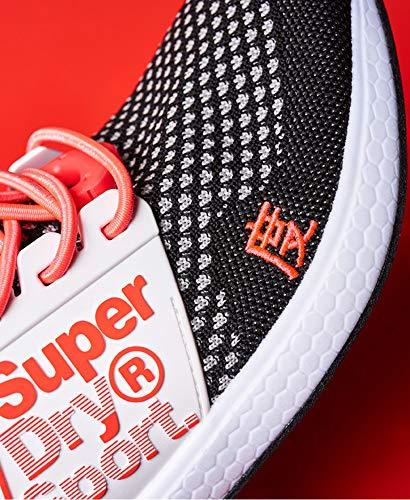 Sneaker Donna rosa grigio Superdry Nero wv5HqdqW