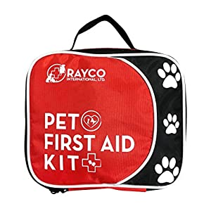 Rayco International Ltd. Pet First Aid Kit with LED Safety Collar (Large) 5