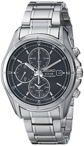 Seiko Men's SSC001 Alarm Chronograph Dress Watch (Alarm Analog Chronograph)