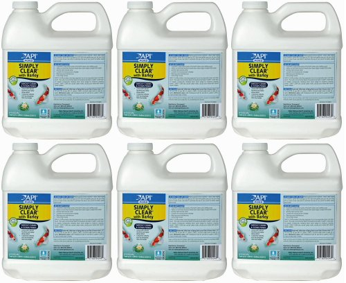 API Pond Simply Clear w/ Barley 384oz (6 x 64oz)