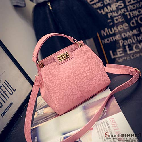 Bag grigio piccola chiaro rosa Womens Bag portatile Yukun Small Fashion Ladies Kitty Messenger ragazza 5nfPRq