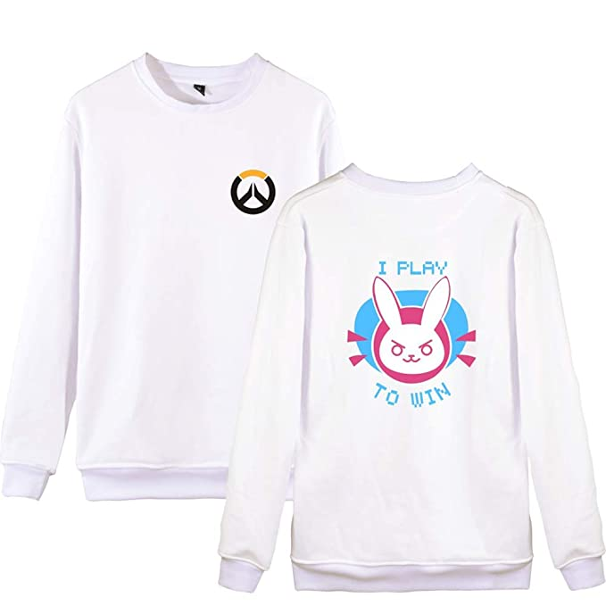 Overwatch Cuello Redondo Manga Larga T-Shirt Clasicos Sencillas Camisetas Ocasionales Remeras Cuello Redondo Sudaderas para Novio Y Novia: Amazon.es: Ropa y ...
