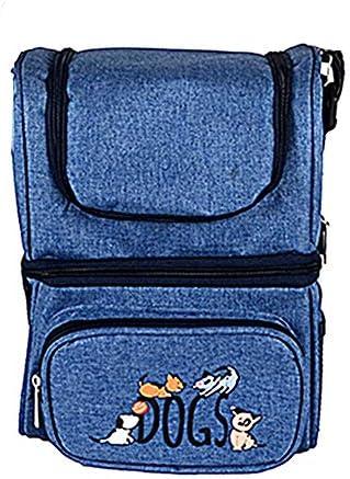 BiggDesign Dogs Dark Blue Heat Insulated Bag, Thermal Bag, Insulated Bag, Dark Blue, Leak Proof