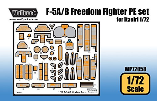 Used, Wolfpack 1:72 F-5 A/B Freedom Fighter PE Set for Italeri for sale  Delivered anywhere in USA