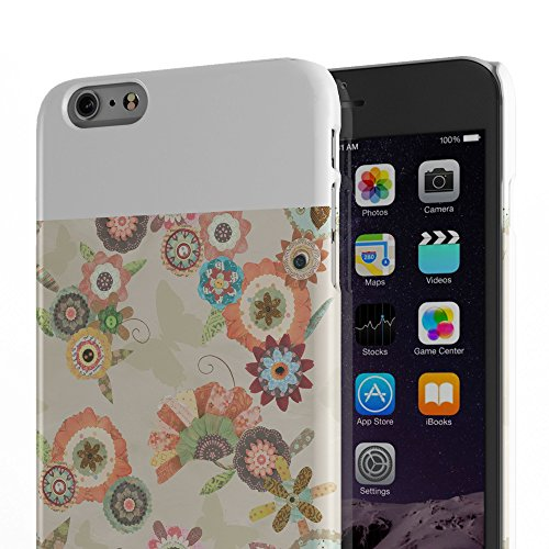 Koveru Back Cover Case for Apple iPhone 6 Plus - Flower Bouquets Butter
