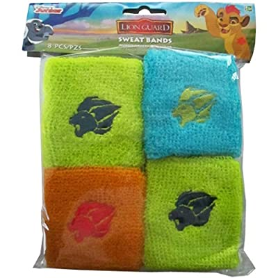 amscan Disney The Lion Guard Sweatbands, Party Favor: Toys & Games