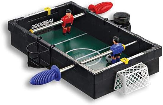 WXXW Futbolín De Mesa Juego Mesa De Fútbol Madera 21 x 30 x 7 cm para