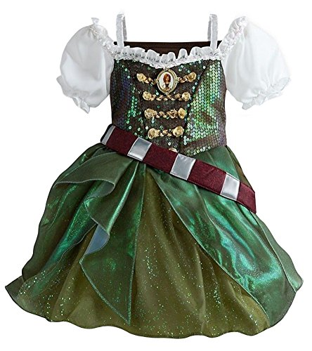 Disney Store Zarina The Pirate Fairy Costume Dress Tinkerbell Size Large 9/10