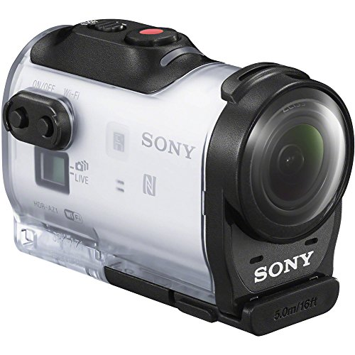 Sony HDR-AZ1VR Waterproof Action Cam Mini with RM-LVR2V Live View...