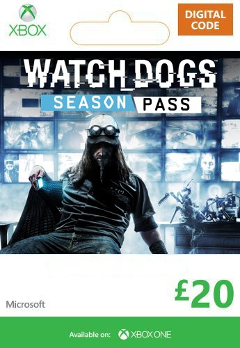 Xbox Live £20 Gift Card: Watch Dogs Season Pass [Online Game Card]