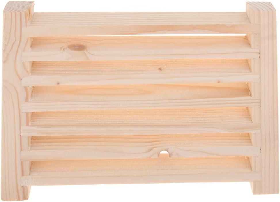 B Blesiya Grille Da/ération en C/èdre pour Sauna Ventilation Sauna Stockage ext/érieurs
