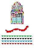 Henbrandt 20 x Kids Retro 22cm Mini Rubiks Cube Snake Childrens Party Bag Toy Fillers