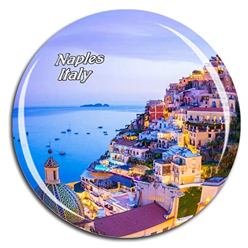 Weekino Italy Amalfi Naples Fridge Magnet 3D Crystal Glass Tourist City Travel Souvenir Collection Gift Strong Refrigerator Sticker
