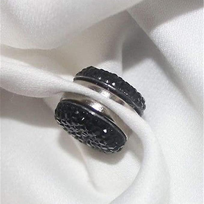 Bianco Sedensy Spilla Magnetica per Foulard Abaya con Chiusura Magnetica Taglia Libera