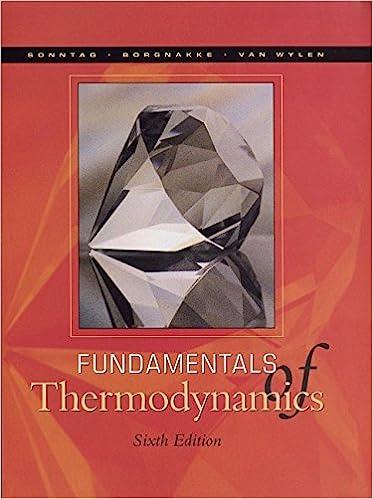 Fundamentals of Thermodynamics 6th Edition
