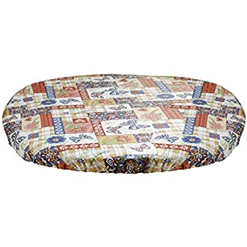 Amazon Com Homecrate Rustic Patchwork Heavyweight Vinyl