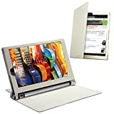 Celicious Notecase W2 Wallet Stand Case for Lenovo Yoga Tab 3 10.1 - White