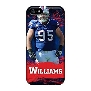 Bumper Hard Phone Cover For Iphone 5/5s With Customized Colorful Buffalo Bills Series ColtonMorrill