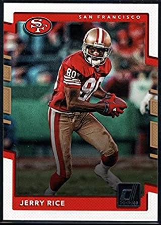 check out 44b9f 70387 Amazon.com: 2017 Donruss #272 Jerry Rice San Francisco 49ers ...