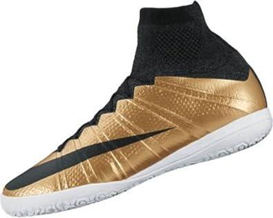 Nike Men\u0027s MercurialX Proximo IC - (Metallic Gold Grain/Black) ...