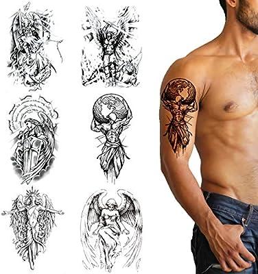 Tatuajes Temporales Niños Temporary Tattoo Prueba de Agua Tatuajes ...