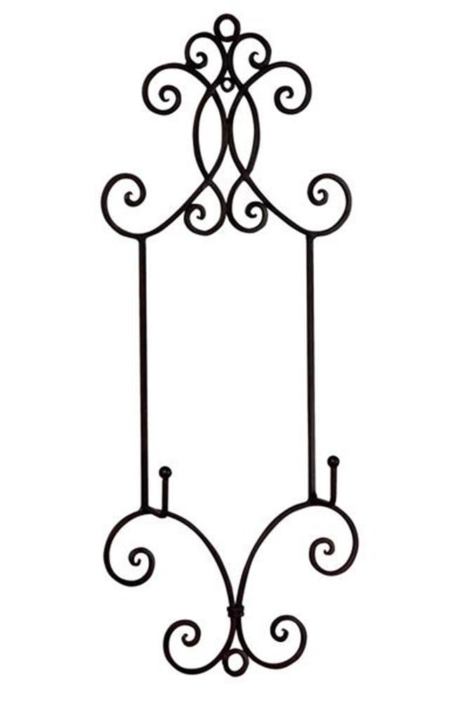 StealStreet SS-Tri-59440 22.25 inch Chelsea Collection Wall Rack by StealStreet