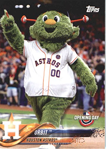 2018 Topps Opening Day Mascots #M-13 Orbit Houston Astros