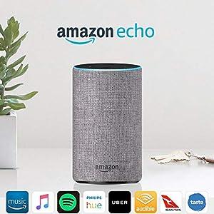 Amazon Echo (2nd generation), Heather Grey