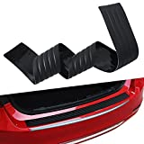 "Autvivid 41"" Car Trunk Rubber Strip Rear Guard Bumper Protector Trim Cover with Rear Anti-Scratch Protection (104cm, with 3M Tape)"