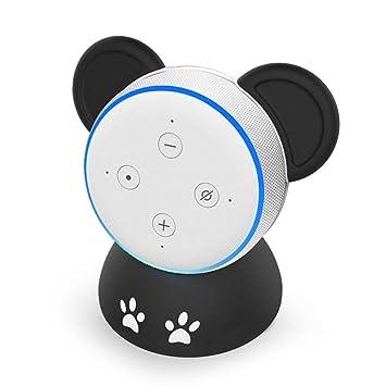 Hemobllo Soporte de Mesa Smart Speaker Funda Protectora Accesorios ...