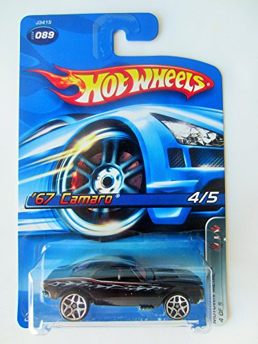 Hot Wheels 2006 Motown Metal '67 Camaro 4 of 5