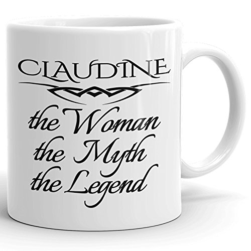 Best Personalized Womens Gift! The Woman the Myth the Legend - Coffee Mug Cup for Mom Girlfriend Wife Grandma Sister in the Morning or the Office - C Set 5