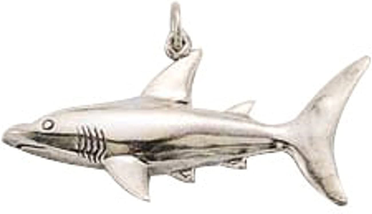 Sterling Silver Womens 1mm Box Chain Hollow Back Partially 3D Dolphin Pendant Necklace