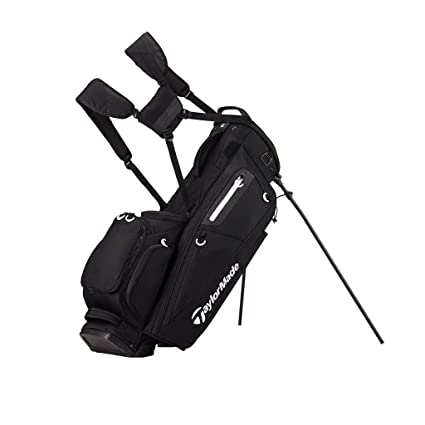 Amazon.com : Taylormade Flextech Stand Bag 2017 Black ...