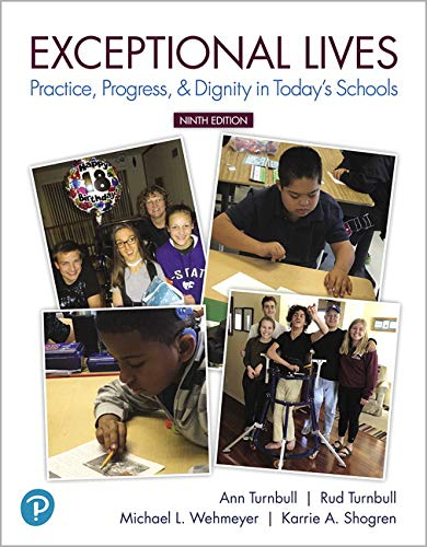 Exceptional Lives: Practice, Progress, & Dignity in Today's Schools (9th Edition) (Special Edition Cards)