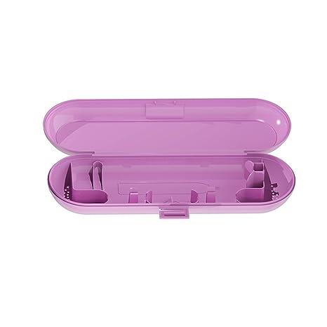 shyymaoyi - Soporte portátil para cepillos de Dientes eléctricos, Color sólido, Caja de Almacenamiento