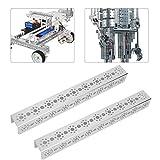17 Holes U-Beam 2pcs Aluminum U-Beam Channels Robot