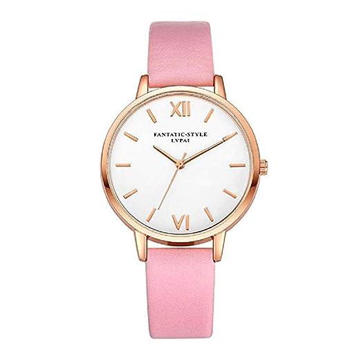 Scpink Relojes de Cuarzo para Mujeres, Relojes de Pulsera para Mujer, Relojes de Pulsera