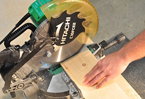 Hitachi C10FCE2 15-Amp 10-inch Single Bevel Compound Miter Saw