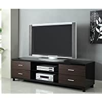 Coaster Home Furnishings 700826 Contemporary TV Console, Black