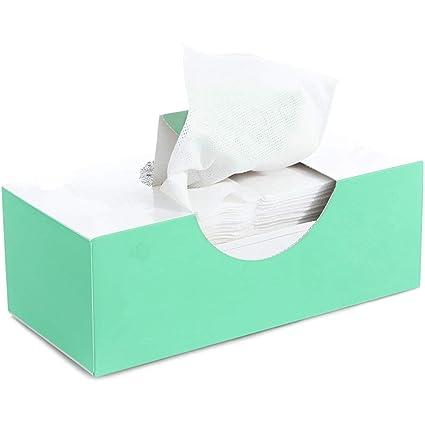 Xxinyyang Toalla De Algodón Suave Cara Desechable Húmeda Y Seca 100 Tabletas/Caja De Piel