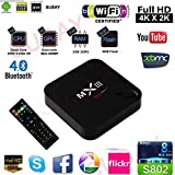Susay(TM) MXIII Android 4.4.2 4K TV Box Amlogic S802 CPU Quad Core Octa core ARM Mali-450 GPU XBMC 2GB Ram 8GB ROM 2.4G Wifi with Remote Control