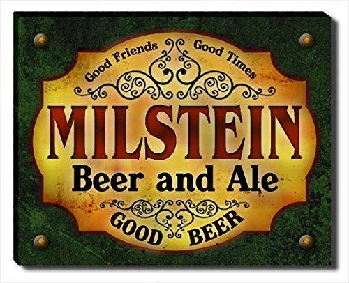 ZuWEE Milstein's Beer and Ale Gallery Wrapped Canvas (Milstein Print)